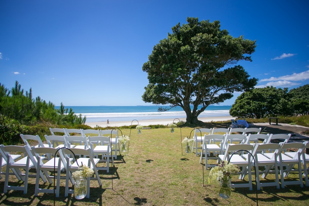 Wedding venue in The Coromandel Peninsula The Dunes Golf Resort
